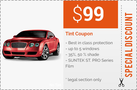 Special Tint Coupon and Car Audio Discounts | Riverside Auto Sound